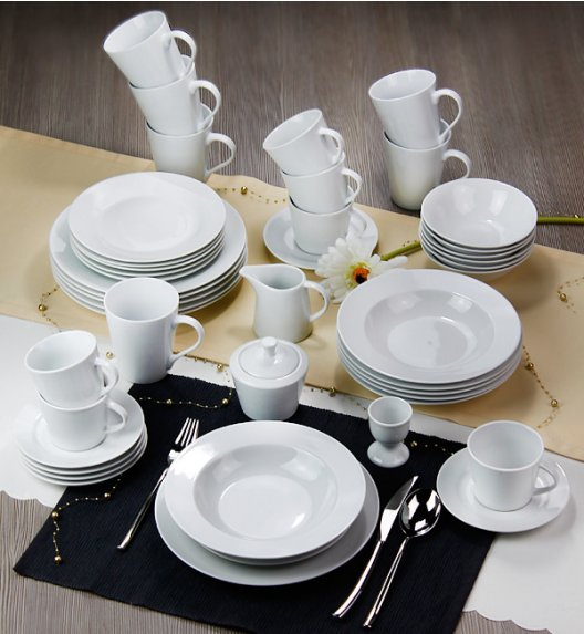ARZBERG EMILY Niemiecki serwis obiadowo-kawowy 52 el / 6 os / porcelana