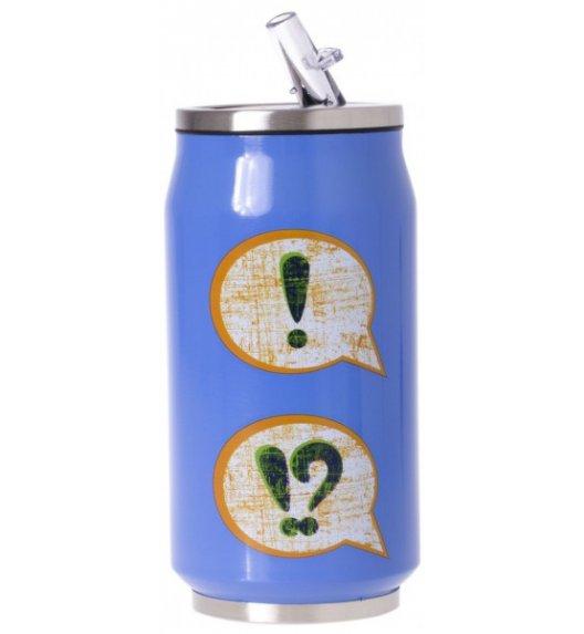 ODELO Kubek termiczny / bidon 350 ml / niebieski