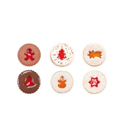 WYPRZEDAŻ! TESCOMA DELICIA Foremki do wykrawania kruchych ciastek bożonarodzeniowych