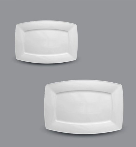 LUBIANA VICTORIA Komplet Półmisków Półmis 38 cm + 28 cm / 2 el / porcelana