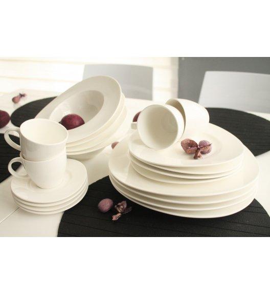 DUO DANCING Komplet obiadowo-kawowy 20 el / 4 osoby / porcelana