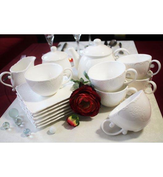 DUO FISCHER Komplet kawowy 15 el / 6 osób / porcelana wysokiej jakości