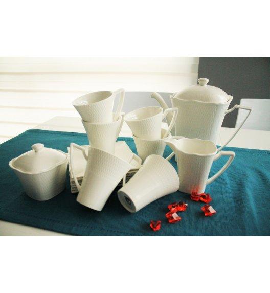 DUO RITZ Komplet kawowy 15 el. / 6 osób / porcelana