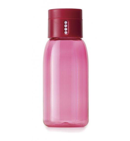 JOSEPH JOSEPH Butelka na wodę 400 ml DOT Różowa / Btrzy