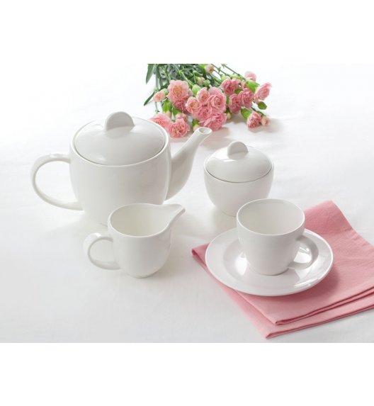AMBITION TIFFANY Serwis kawowy 17 elementów dla 6 osób / Porcelana / 94642