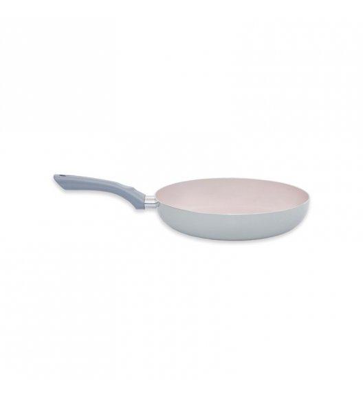 TADAR SOTTO Patelnia z powłoką ceramiczną 20 cm / szara / indukcja