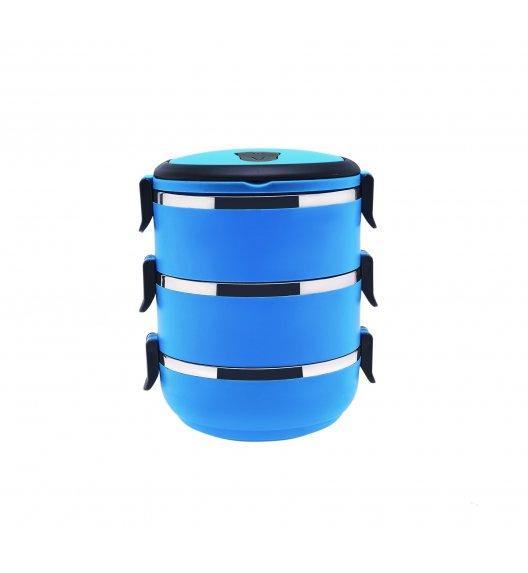 TADAR Pojemnik obiadowy 2,1 L niebieski / 3 warstwy