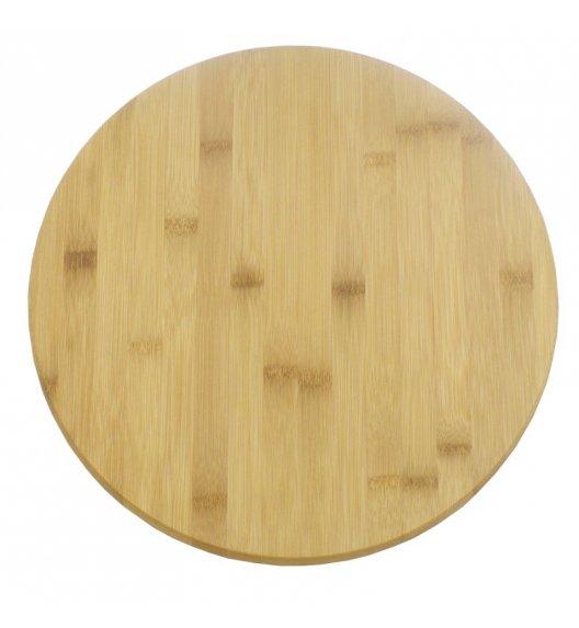 TADAR Obrotowa deska ø 35 cm / drewno bambusowe