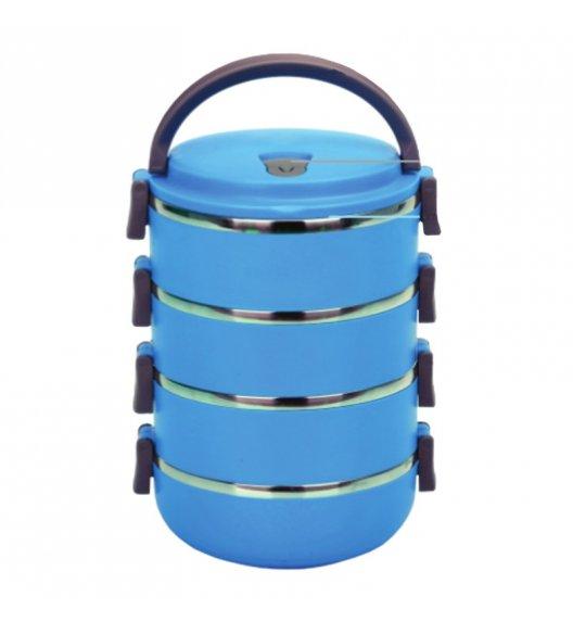 TADAR Termos obiadowy 2,8 L niebieski / 4 warstwy