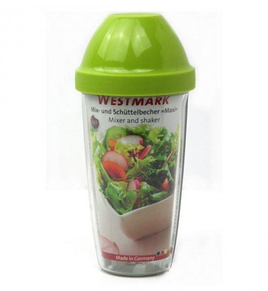WESTMARK MAXI Shaker do sosów z wkładką mieszającą 500 ml / zielony