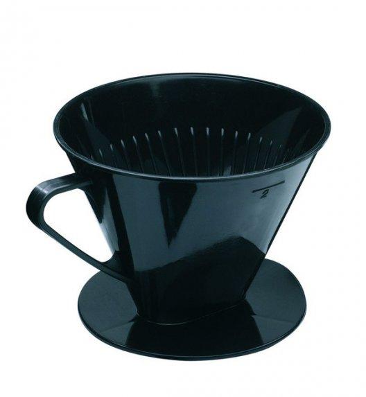 WESTMARK Plastikowy filtr do kawy z rączką / rozmiar 2 / czarny
