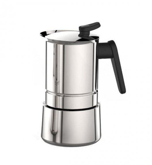 PEDRINI STEEL MOKA Kawiarka stalowa na 4 espresso 02CF037 / scapol