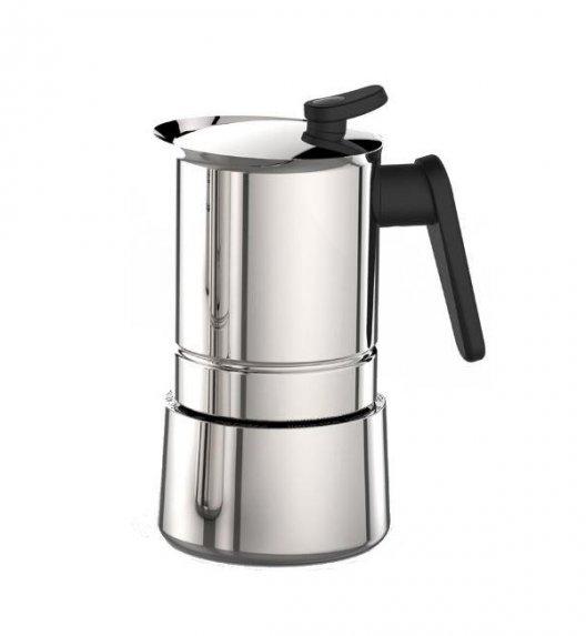 PEDRINI STEEL MOKA Kawiarka stalowa na 6 espresso 02CF038 / scapol
