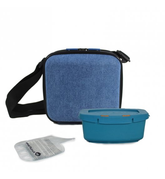 SMART LUNCH SmartOffice Torba na lunch Denim / niebieska / btrzy
