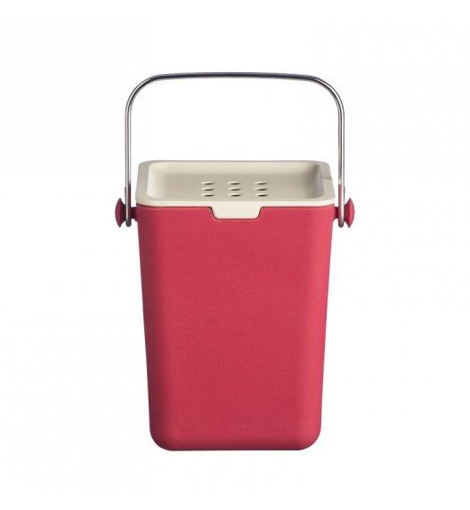 TYPHOON Kompostownik z filtrem neutralizującym zapach 3,5 l NUBU, czerwony / Btrzy