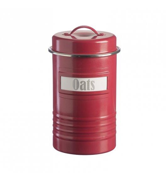 TYPHOON Stalowy pojemnik na produkty sypkie 1,9 l VINTAGE KITCHEN, czerwony / Btrzy