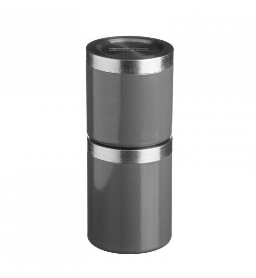 TYPHOON Stalowy pojemnik na produkty sypkie 0,6 l HUDSON, grafitowy / Btrzy