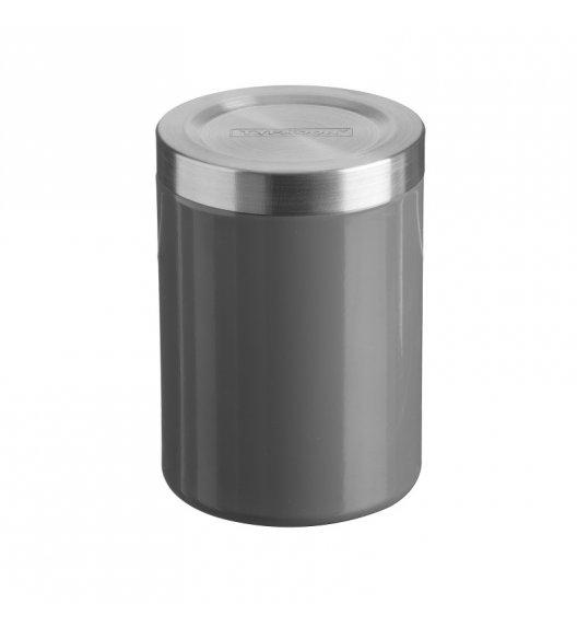 TYPHOON Stalowy pojemnik na produkty sypkie 1 l HUDSON, grafitowy / Btrzy