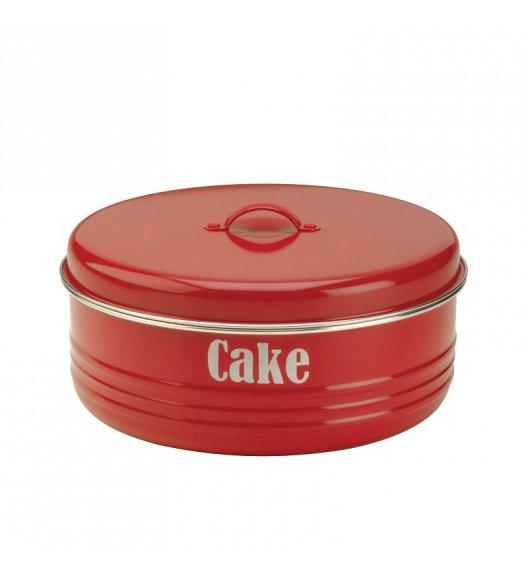TYPHOON Stalowy pojemnik na ciasto 4,3 l VINTAGE KITCHEN, czerwony / Btrzy