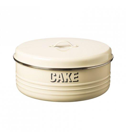 TYPHOON Stalowy pojemnik na ciasto 4,3 l VINTAGE KITCHEN, kremowy / Btrzy