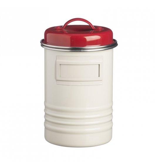 TYPHOON Stalowy pojemnik 1,9 l BELMONT, biało-czerwony / Btrzy