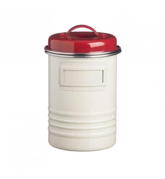 TYPHOON Stalowy pojemnik 3,1 l BELMONT, biało-czerwony / Btrzy