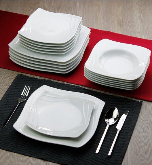 KAROLINA VANITY Serwis obiadowy 36 elementów / 12 osób / porcelana