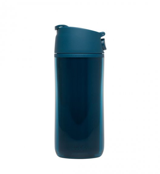 ALADDIN Kubek termiczny plastikowy FLIP & SIP 0,35 l morski / FreeForm