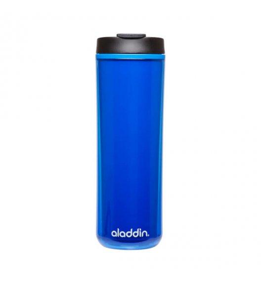ALADDIN Plastikowy kubek termiczny HOT & COLD 0,47 l niebieski / FreeForm