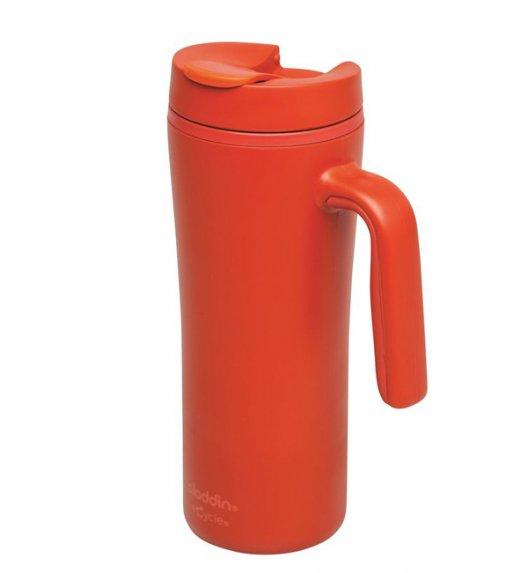 ALADDIN Kubek termiczny z rączką R&R 0,35 l czerwony / FreeForm
