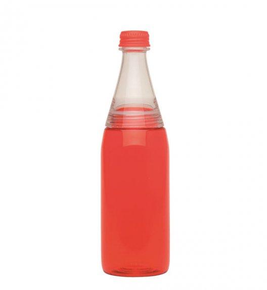 ALADDIN Butelka na zimne napoje z podwójną nakrętką CRAVE 0,6 l czerwona / FreeForm