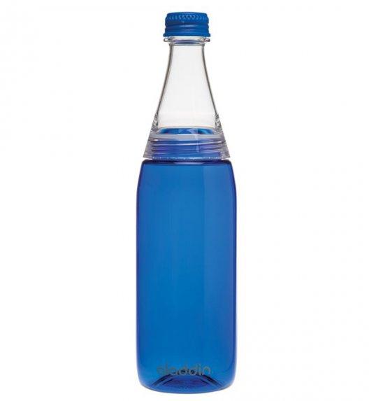 ALADDIN Butelka na zimne napoje z podwójną nakrętką CRAVE 0,7 l niebieska / FreeForm