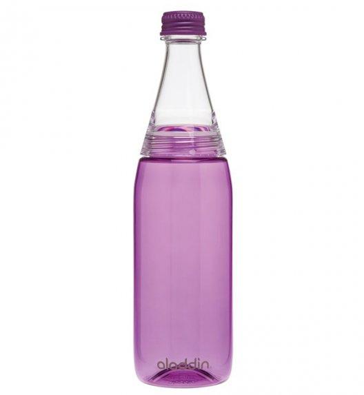 ALADDIN Butelka na zimne napoje z podwójną nakrętką CRAVE 0,7 l fioletowa / FreeForm