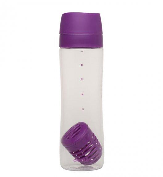 ALADDIN Butelka na wodę z koszyczkiem na owoce AVEO 0,7 l fioletowa / FreeForm
