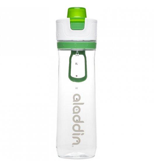 ALADDIN Butelka ze wskaźnikiem spożycia wody ACTIVE HYDRATION 0,8 l zielona / FreeForm