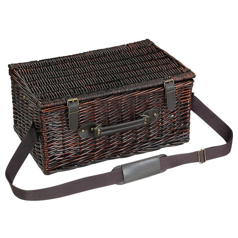 1c018788fd420 CILIO Kosz piknikowy dla 4 osób VARESE z wyposażeniem   FreeForm ...