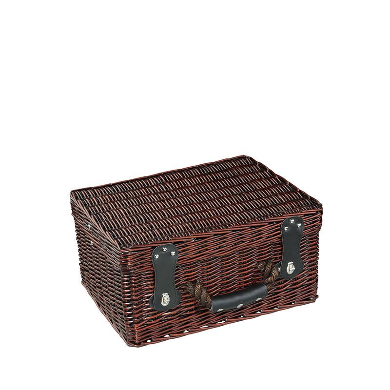a19962544a704 CILIO Kosz piknikowy dla 4 osób LUINO z wyposażeniem   FreeForm ...