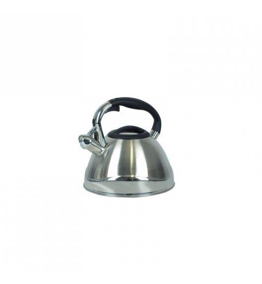 KELA Czajnik z gwizdkiem VARUS 3,0 l indukcja, srebrny / FreeForm