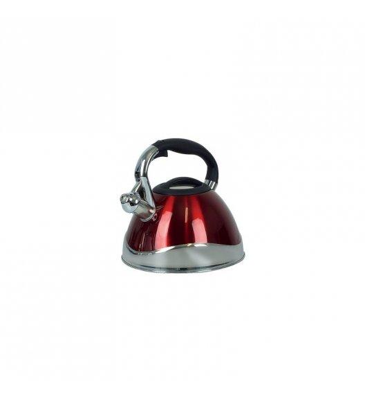 KELA Czajnik z gwizdkiem VARUS 3,0 l indukcja, czerwony / FreeForm
