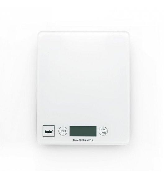 KELA Cyfrowa waga kuchenna PINTA biała do 5 kg / FreeForm