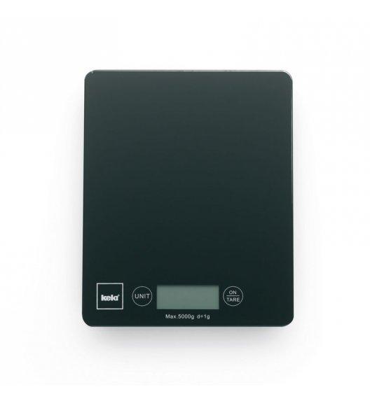 KELA Cyfrowa waga kuchenna PINTA czarna do 5 kg / FreeForm
