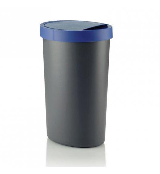 KELA Kosz na śmieci COLETTA szaro-niebieski 30 l / FreeForm