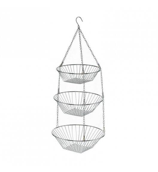 KELA Potrójny koszyk wiszący na owoce LOOP ⌀ 30 × 73 cm / FreeForm