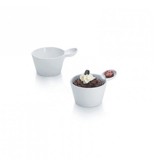 KELA Zestaw porcelanowych miseczek do deserów PETIT 2 sztuki / FreeForm