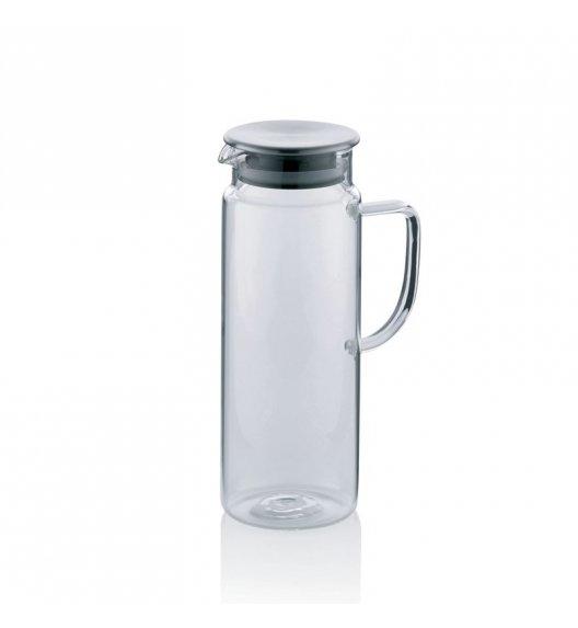 KELA Szklany dzbanek ze stalową pokrywą PITCHER 1,0 l / FreeForm