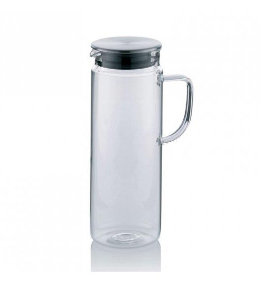 KELA Szklany dzbanek ze stalową pokrywą PITCHER 1,6 l / FreeForm