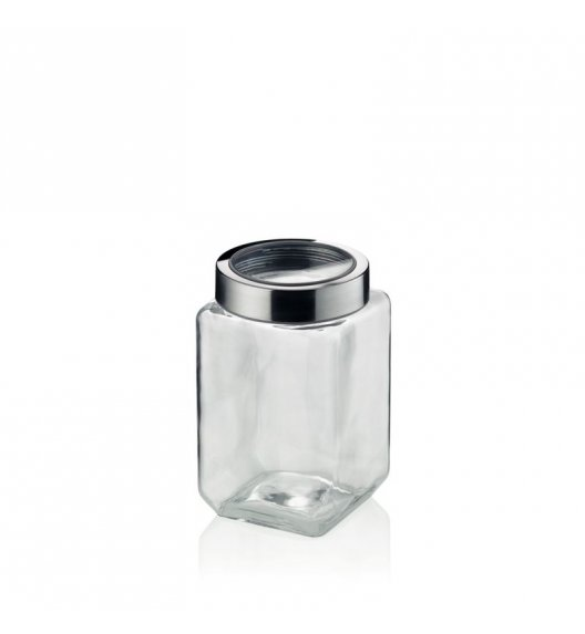 KELA Pojemnik szklany SIRO 1,5 l szary / FreeForm