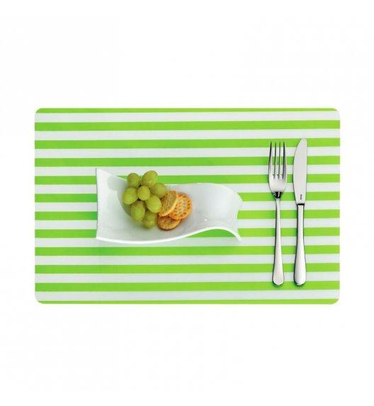 KELA Podkładka na stół CADO zielona w paski / FreeForm