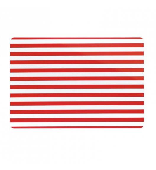 KELA Podkładka na stół CADO czerwona w paski / FreeForm