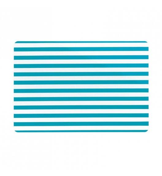 KELA Podkładka na stół CADO niebieska w paski / FreeForm